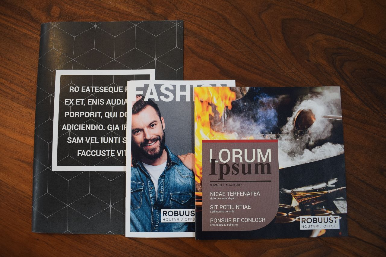 Gratis samples ROBUUST brochures