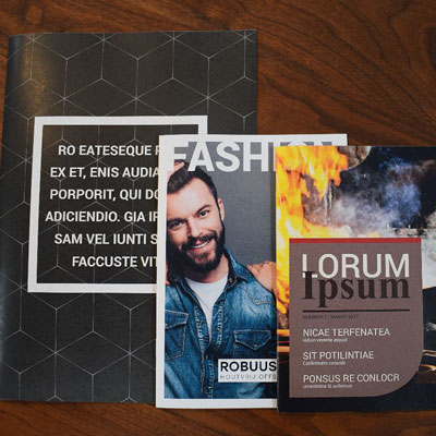 Samplepakket Robuust brochures